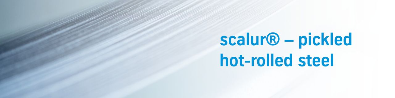 scalur® – pickled hot-rolled steel with very tight thickness tolerances