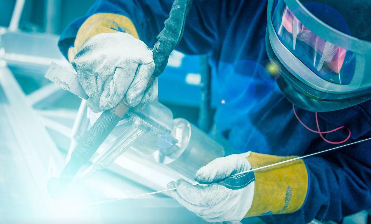 welding of aluminium