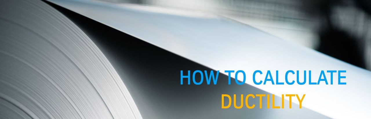 how to calculate ductility