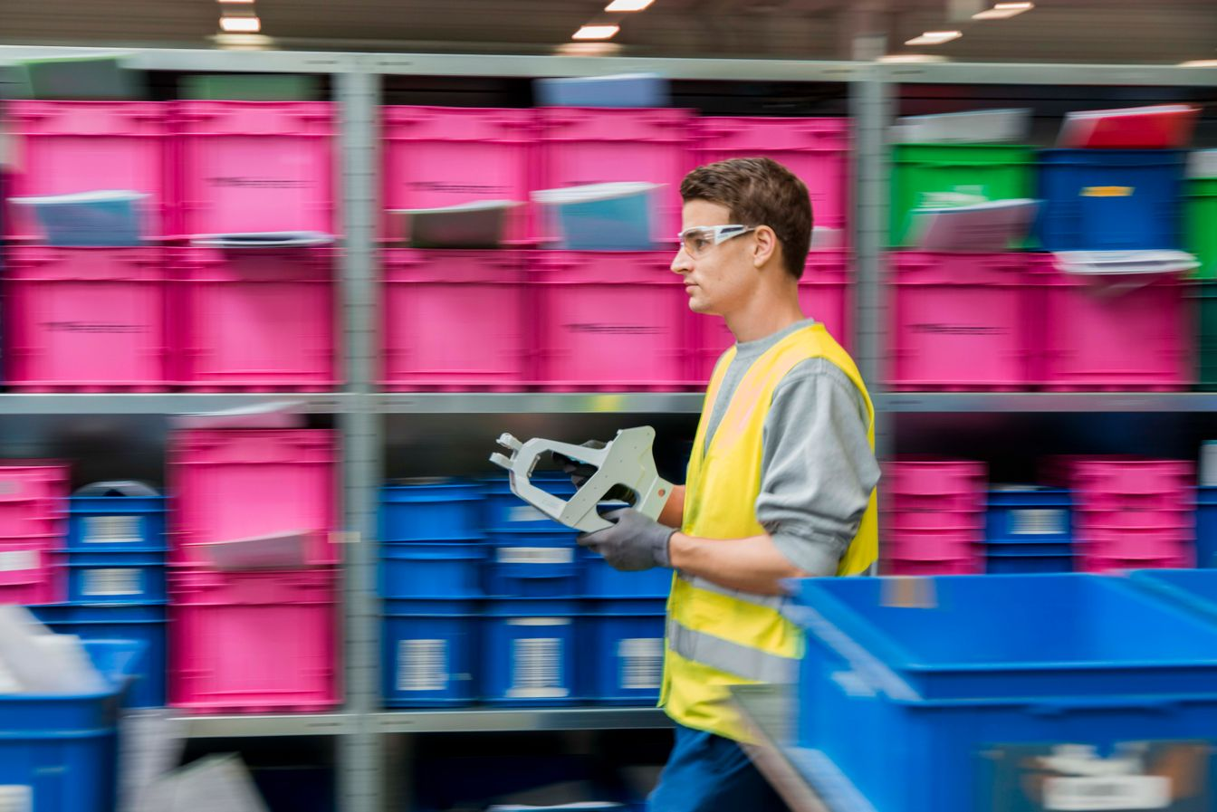 Just-in-time deliveries at thyssenkrupp Aerospace
