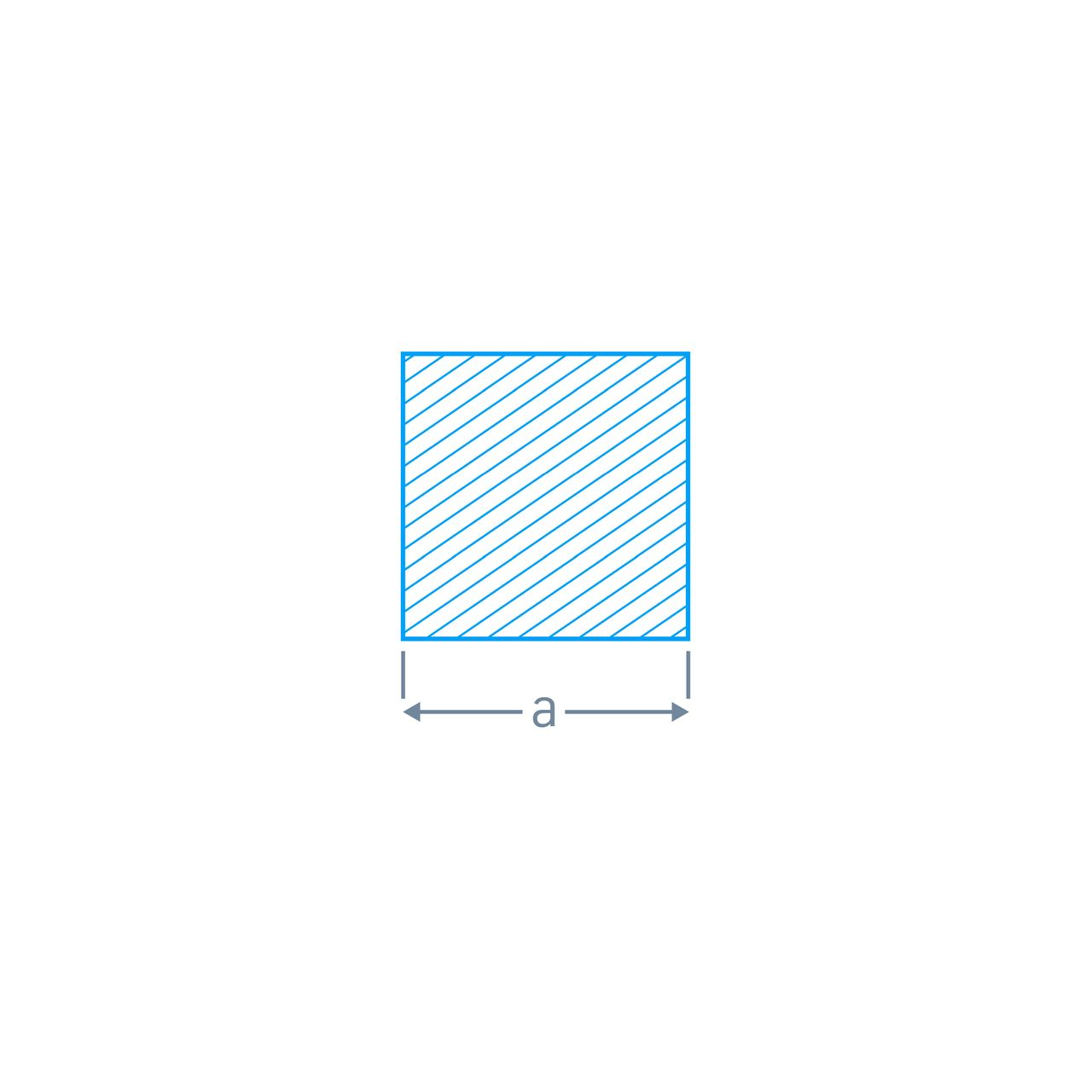 Vierkantstahl-EN 10059