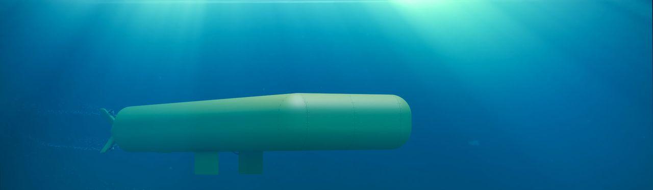 Image of MUM Vehicle under water