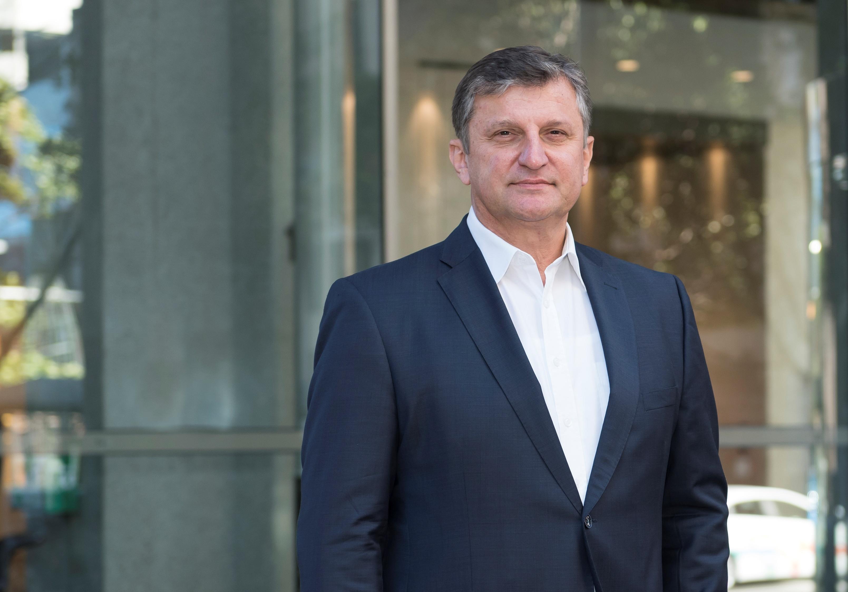 Dr. Johann Rinnhofer, CEO of thyssenkrupp Industrial Solutions Australia