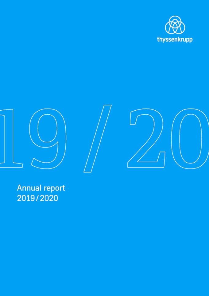 thyssenkrupp Annual Report 2019/2020