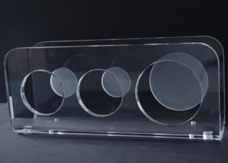 Voorbeeld polijsten ISPA plastics