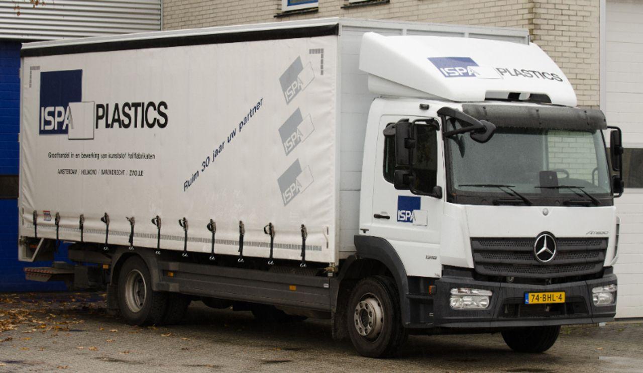 ISPA Plastics Nederland vrachtwagen