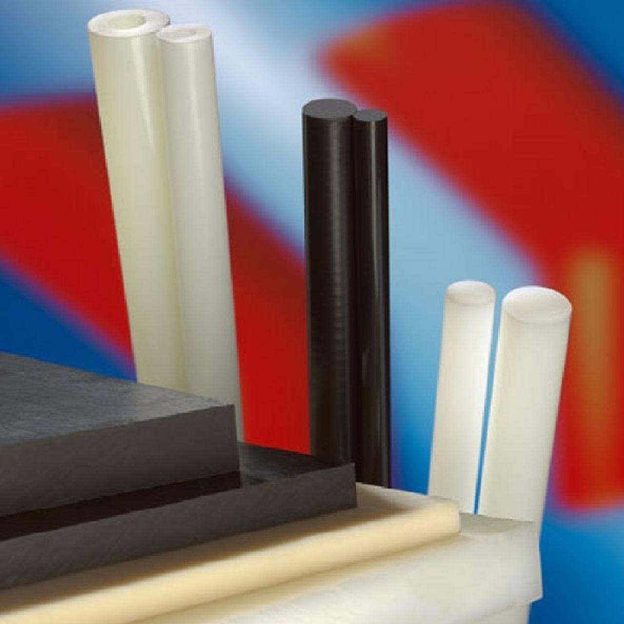 Nylon, PA (polyamide) kunststof staven