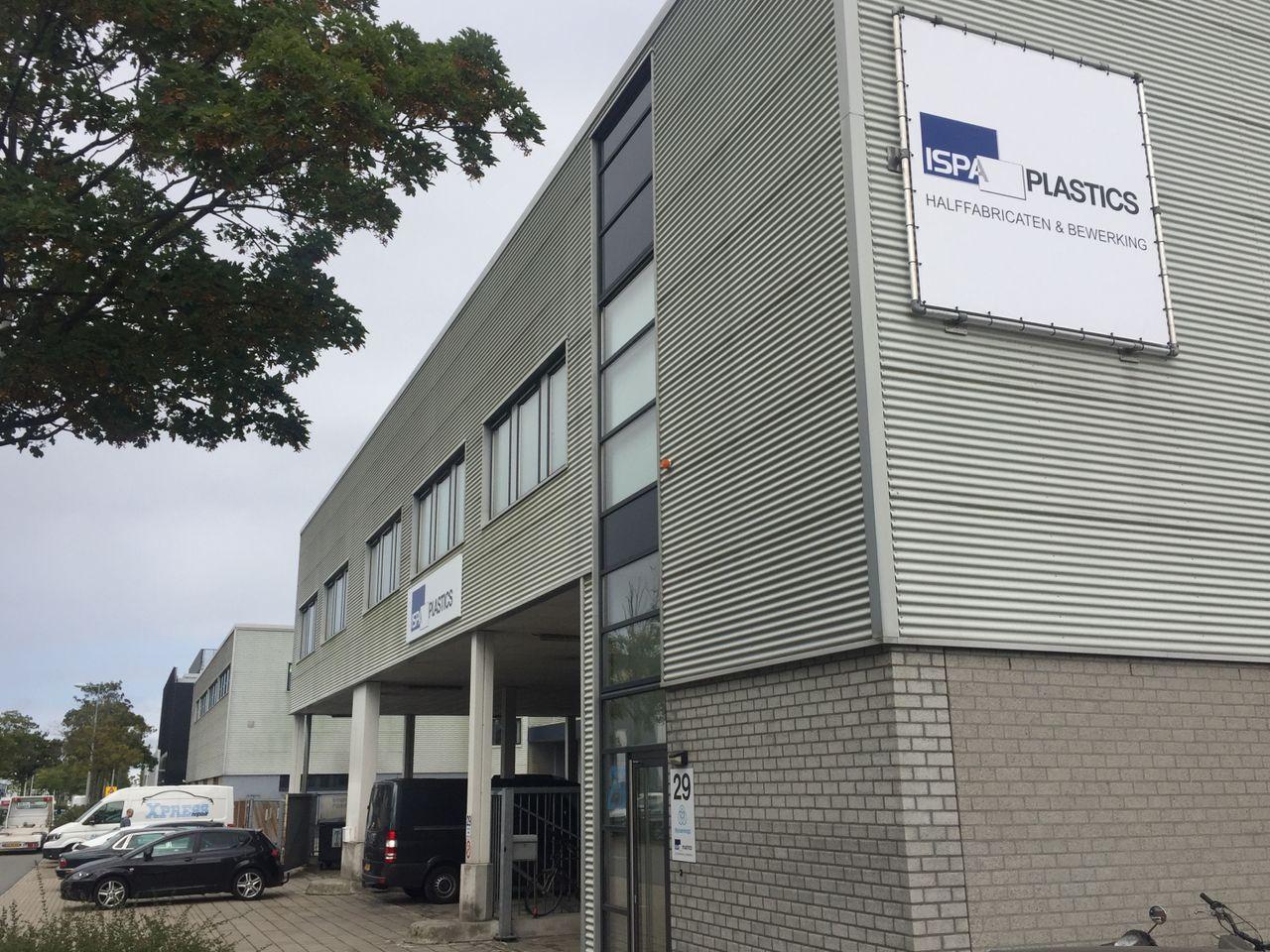 ISPA plastics pand Amsterdam