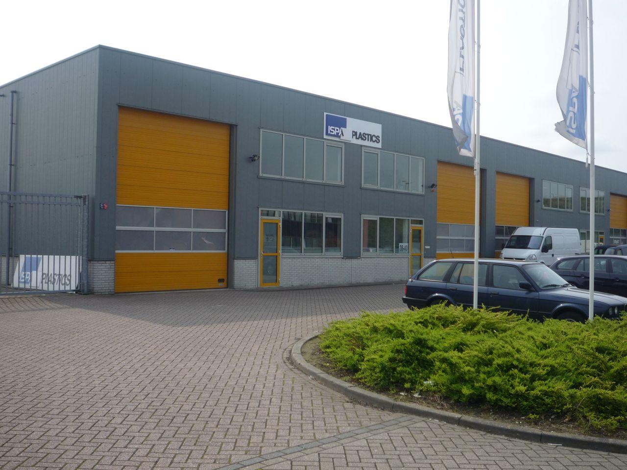 ISPA plastics pand Barendrecht