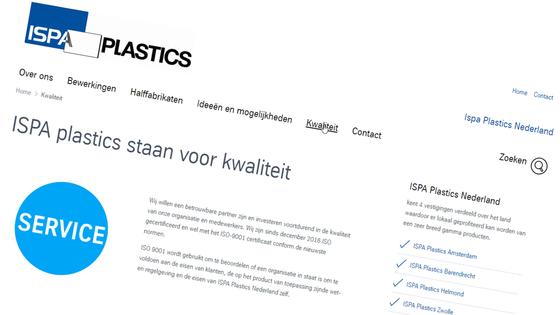 Kwaliteit Ispa Plastics