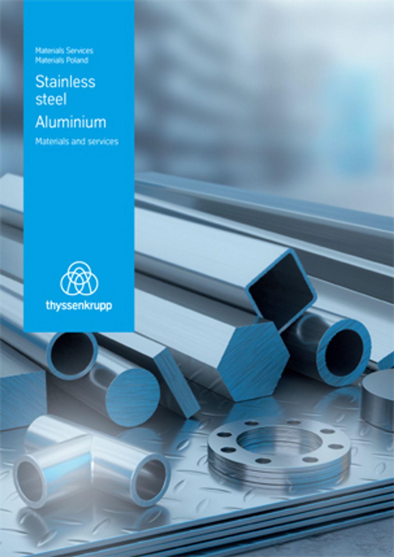 Stainless steel. Aluminium