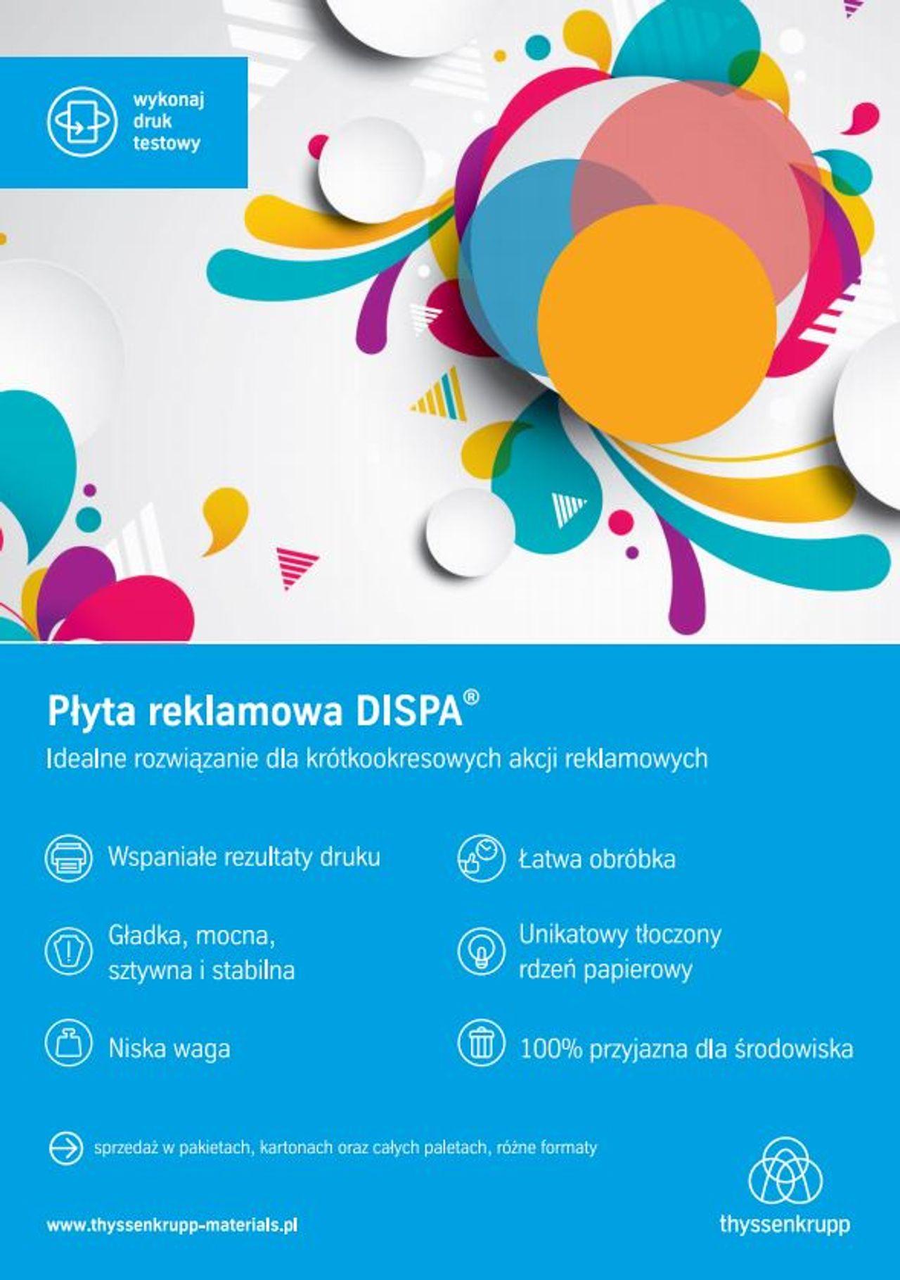 Płyta reklamowa DISPA®