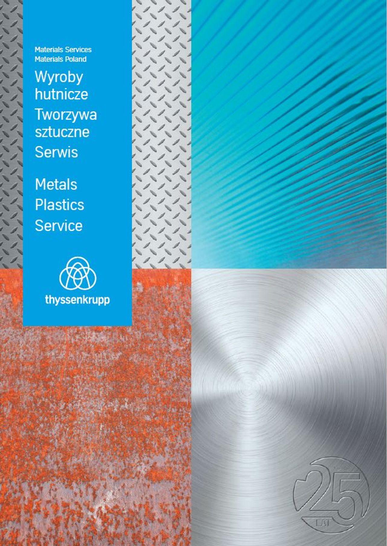 Katalog firmowy Wyroby hutnicze. Tworzywa sztuczne