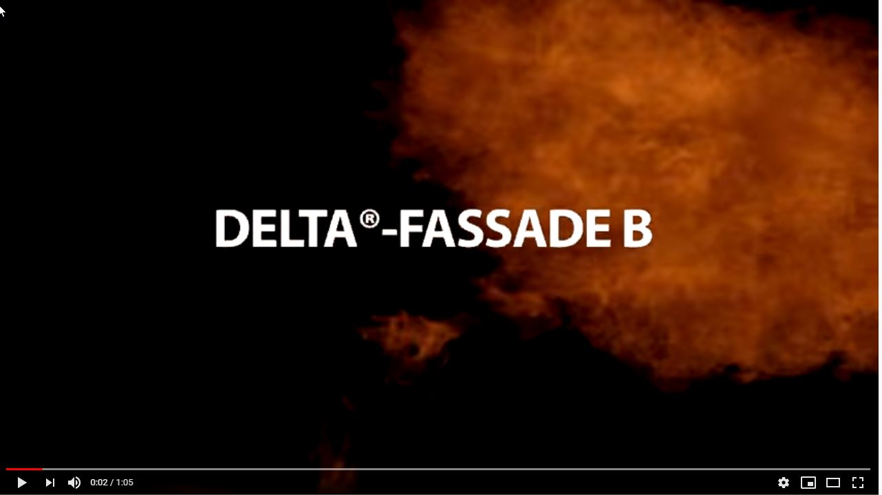 Afbeelding You Tube video DELTA Fassade B
