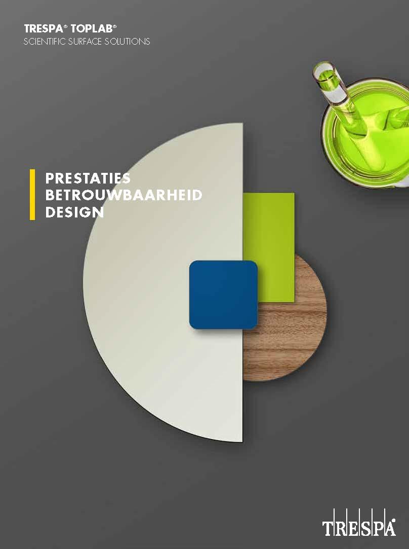 Afbeelding Cover TRESPA® Toplab folder NL