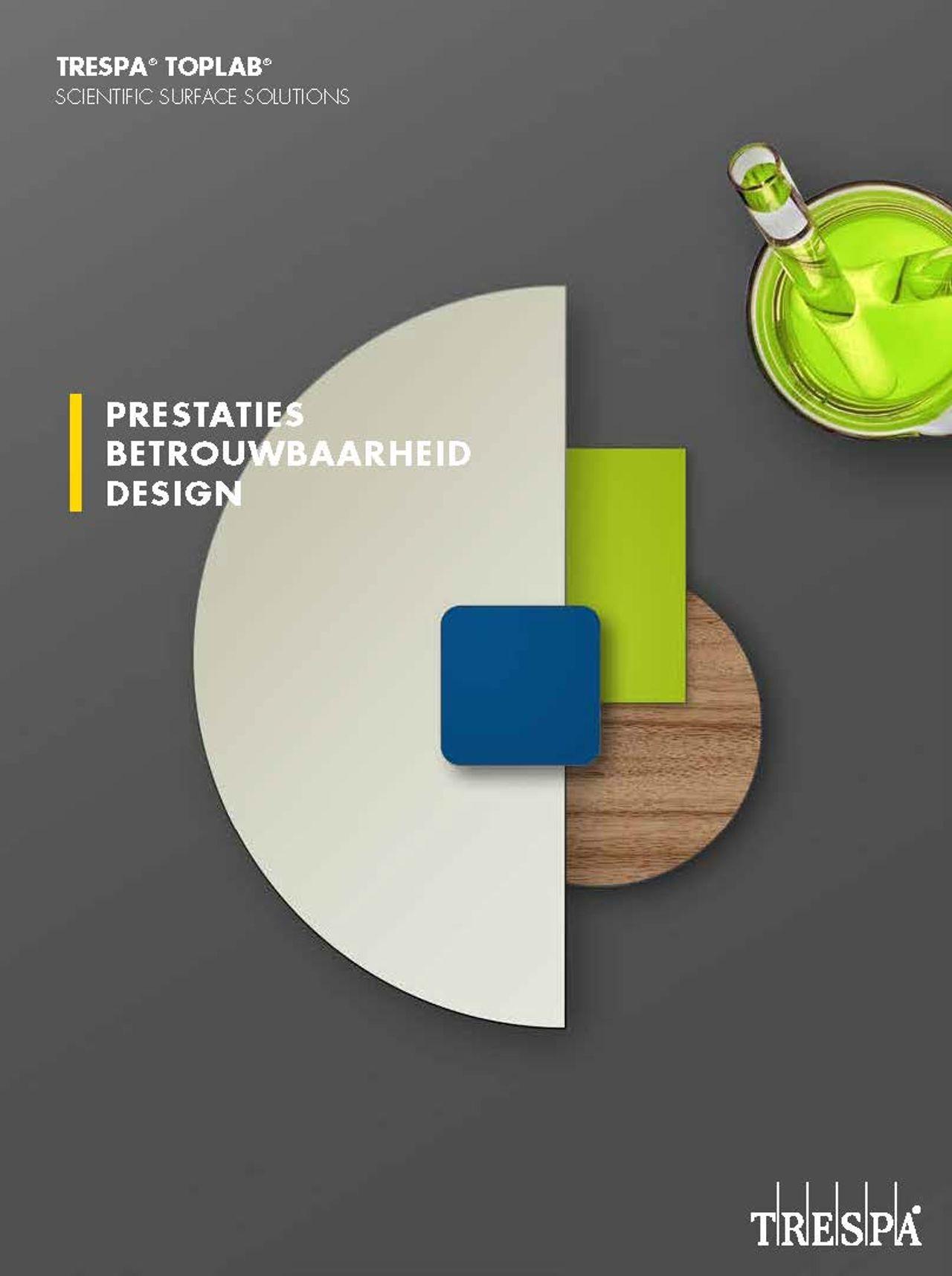Afbeelding Cover brochure TRESPA® Toplab