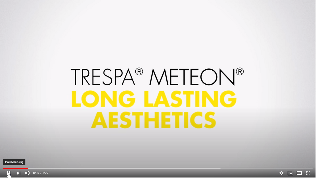 Afbeelding You Tube video TRESPA® Meteon® reinigen