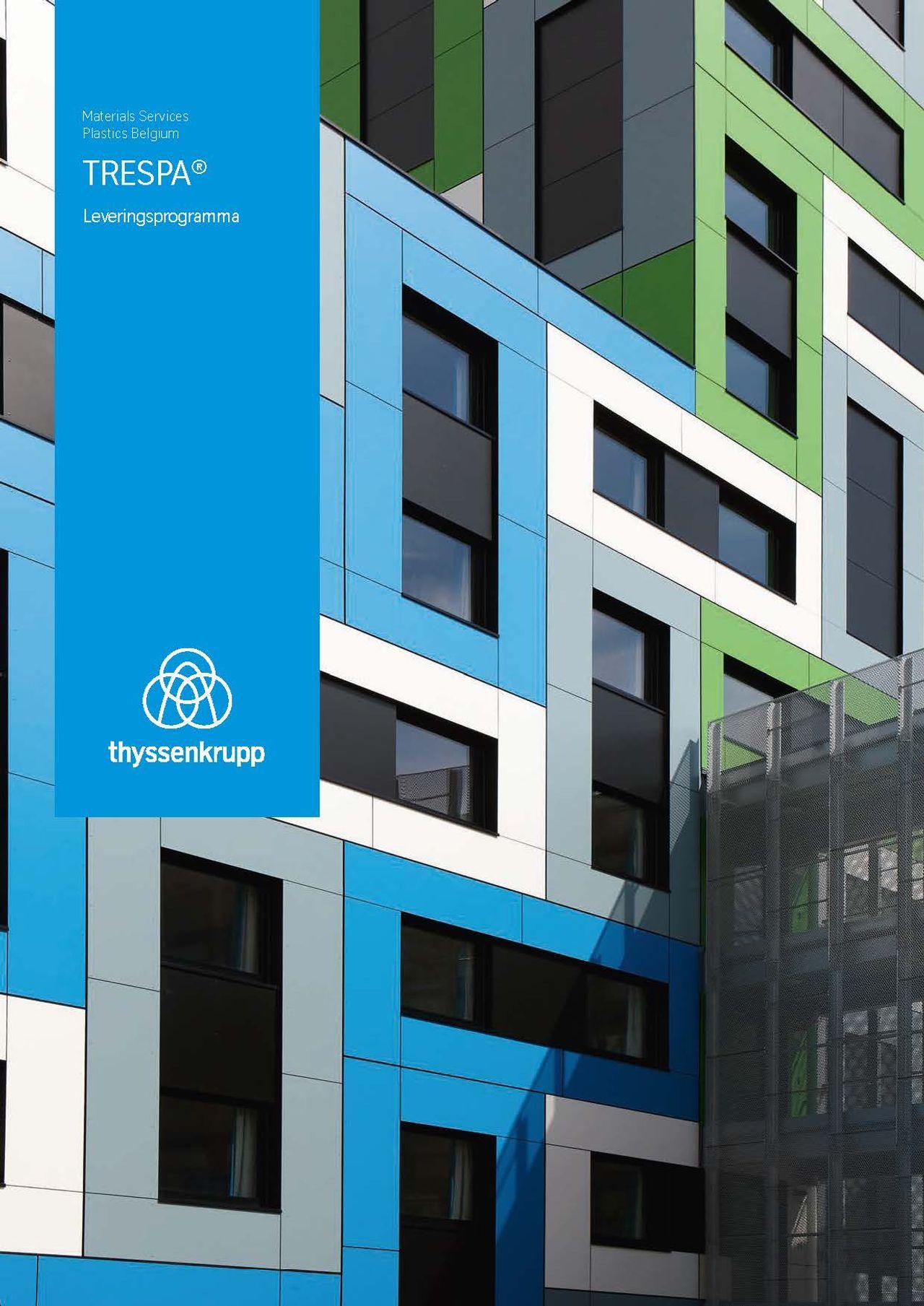 Afbeelding brochure TRESPA® leveringsprogramma