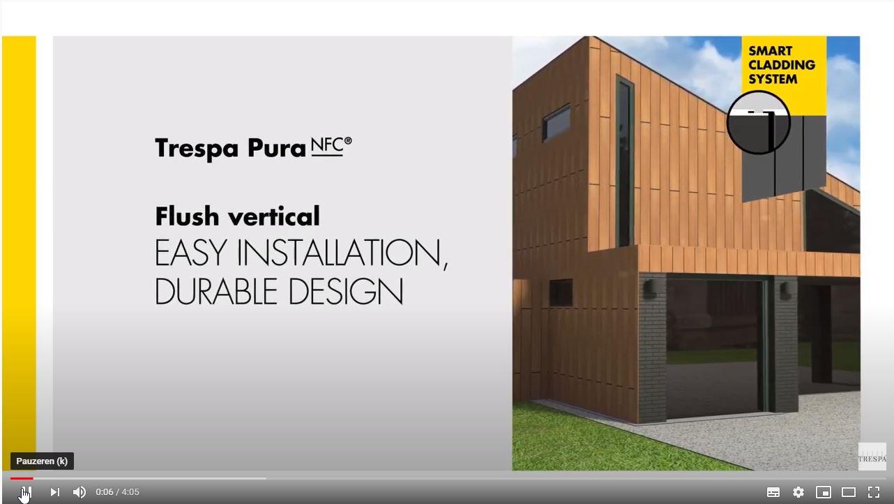 TRESPA® Pura - installatievideo verticaal
