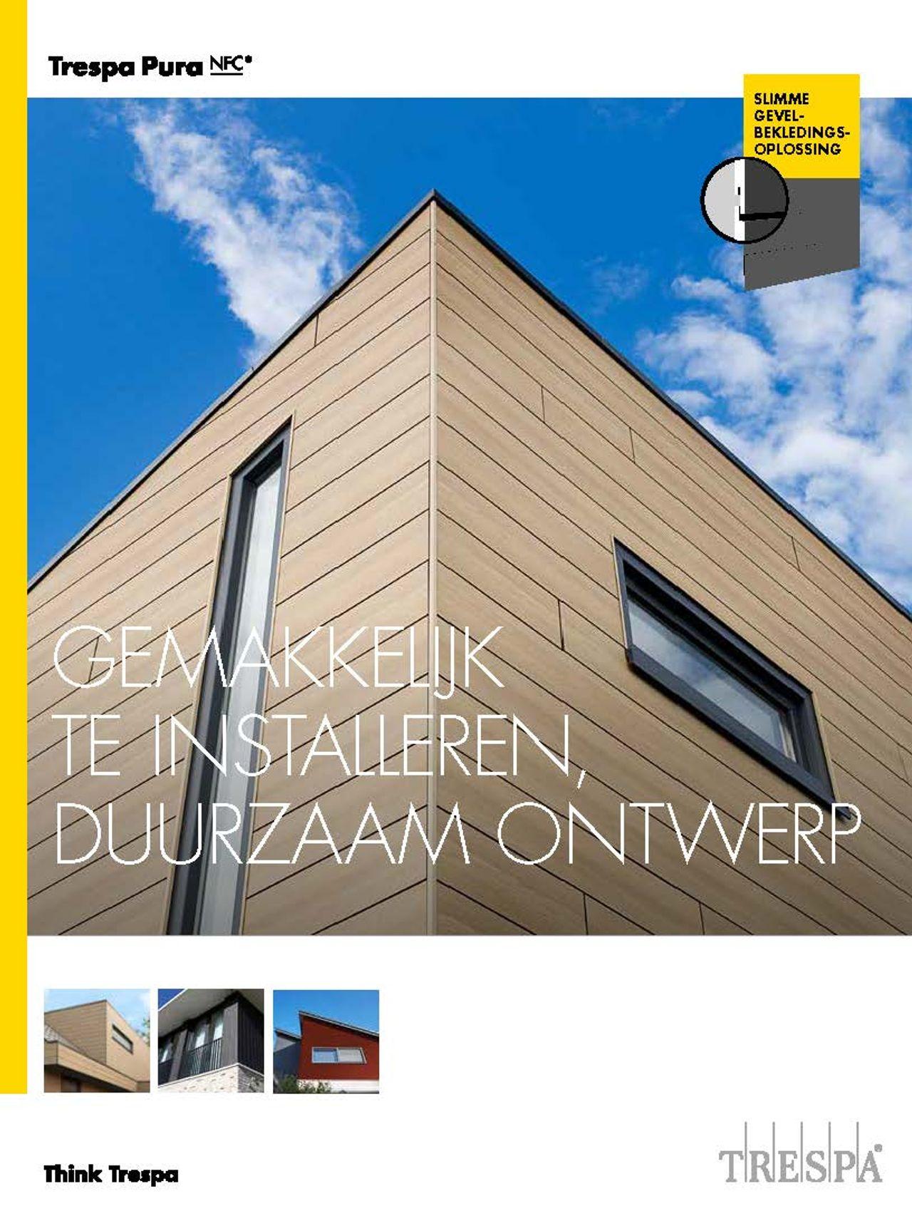 Afbeelding cover brochure TRESPA® Pura NFC
