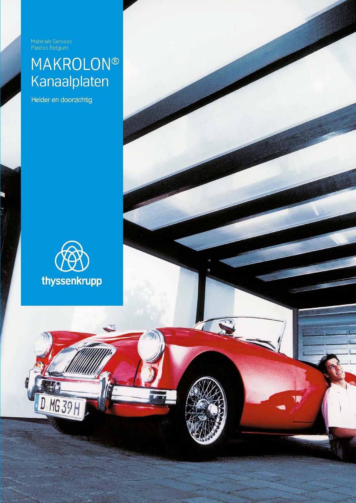 Brochure verandaplaten MAKROLON®