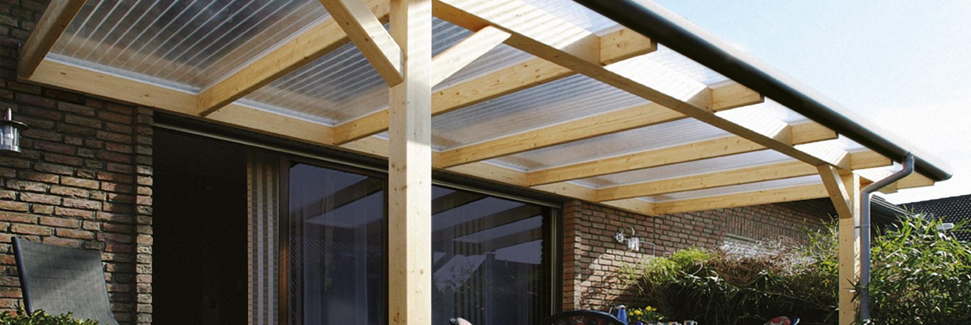 Plexiglas verandaplaten