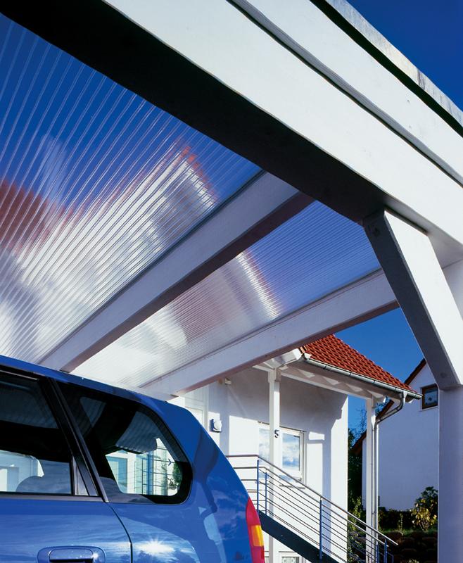 Afbeedling Plexiglas verandaplaten kleurloos