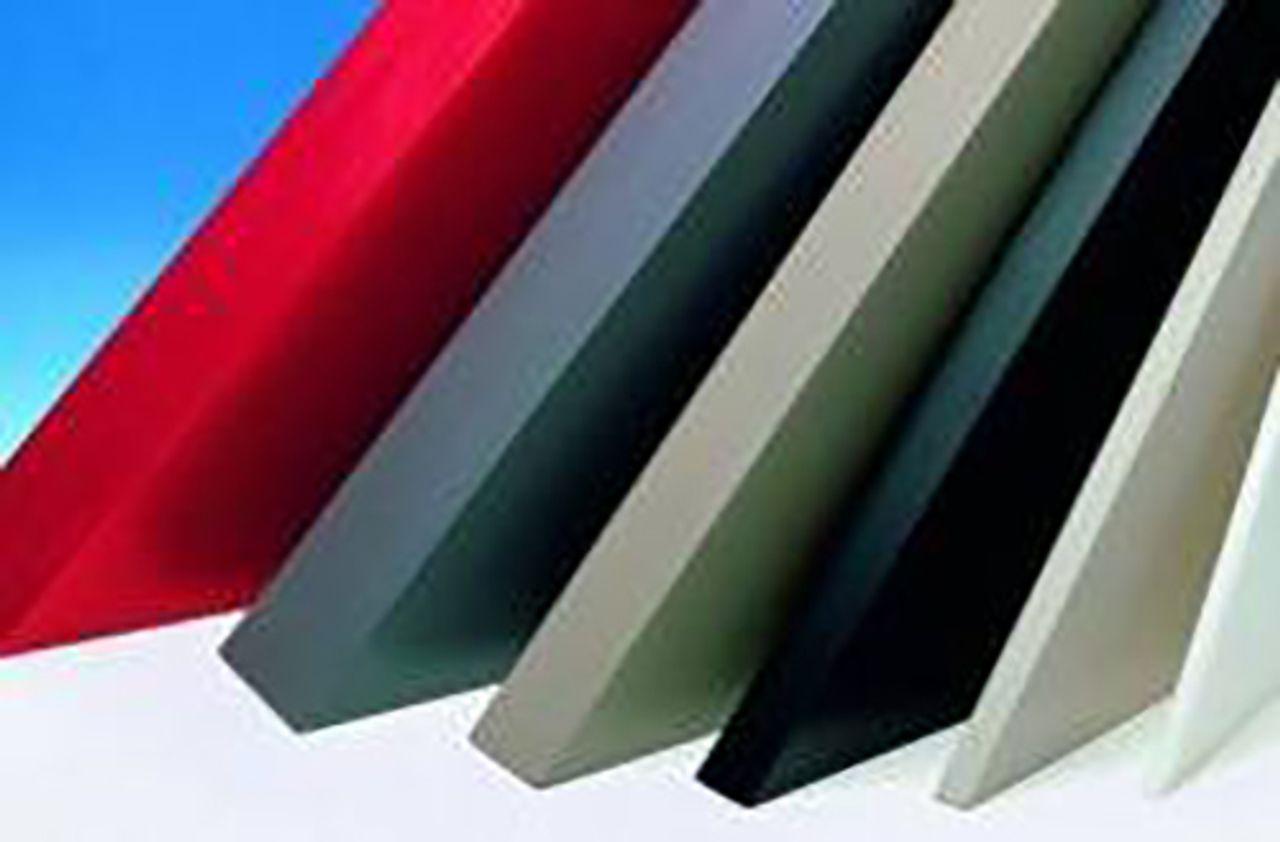 Afbeelding PVC-U kunststof plaat
