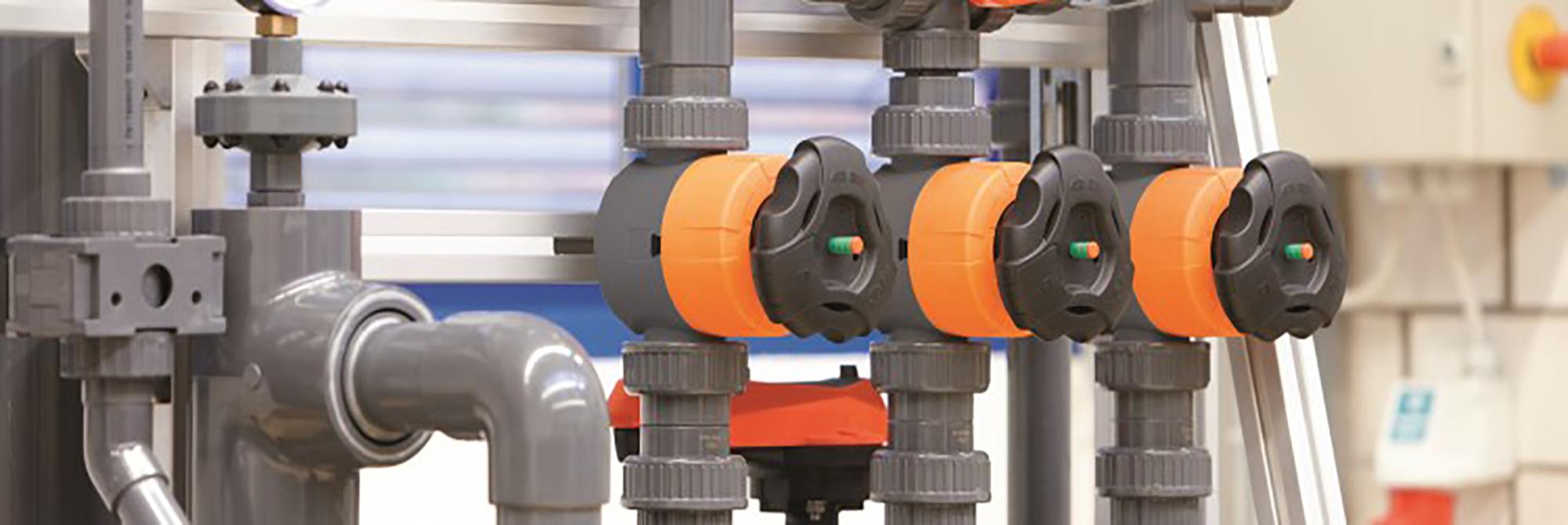 Afbeelding ABS industriele leidingsystemen