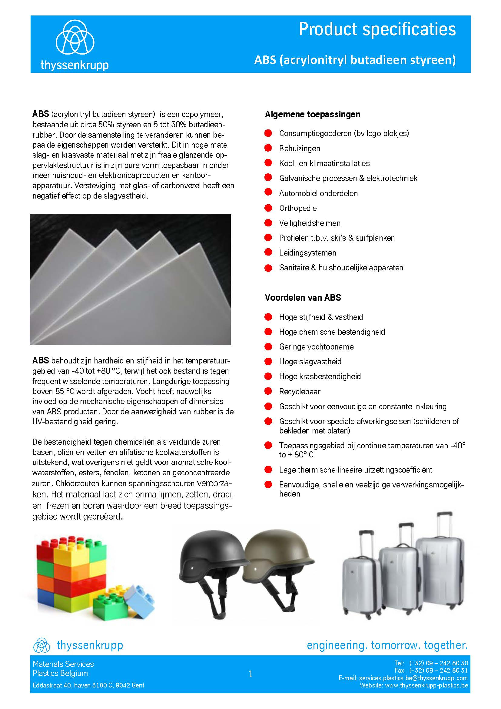 Afbeelding cover ABS leidingsystemen technische fiche