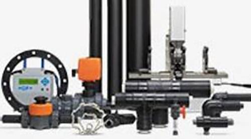 Afbeelding dubbelwand industriële leidingsystemen