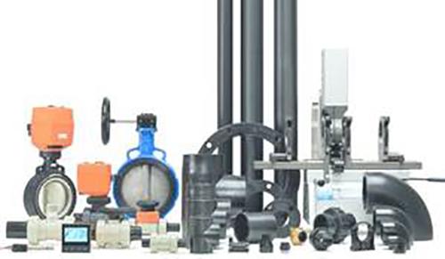 Afbeelding PE industriële leidingsystemen