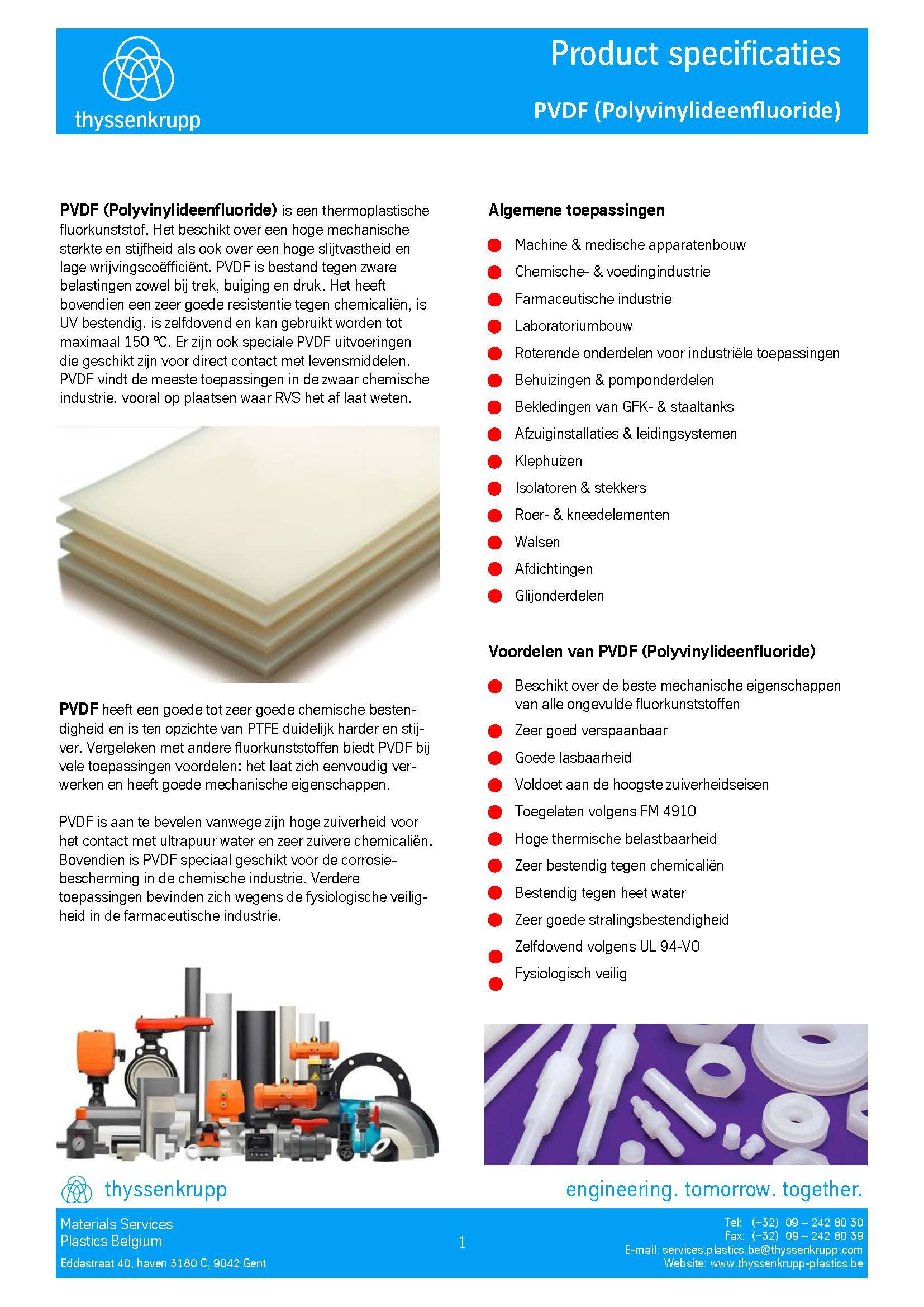 Afbeelding cover PVDF ventilatie leidingsystemen