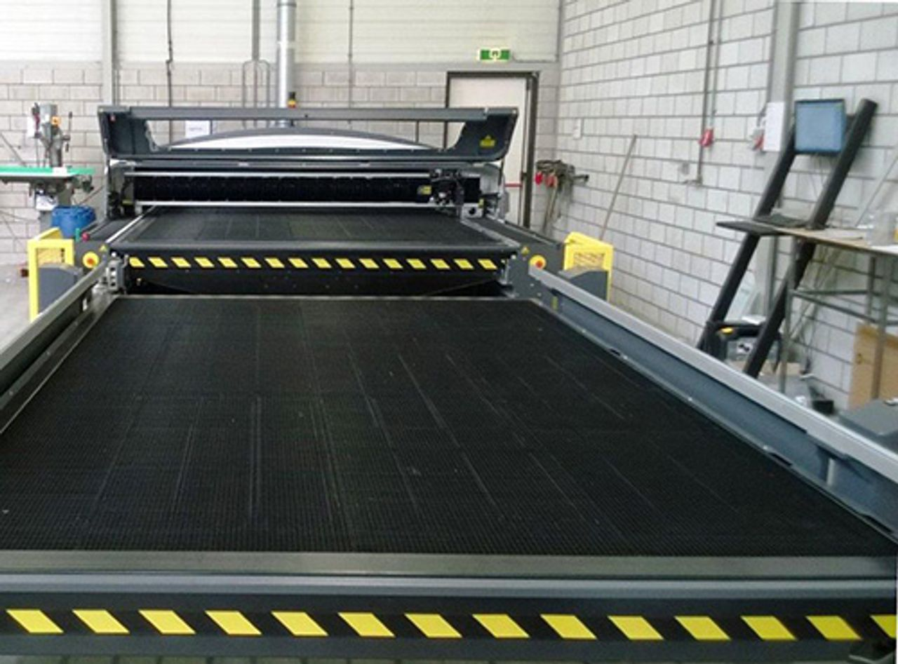 Afbeelding lasermachine