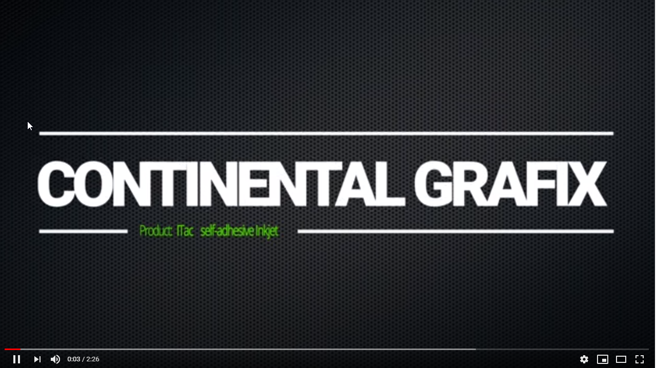 Afbeelding video Continental Grafix iTac