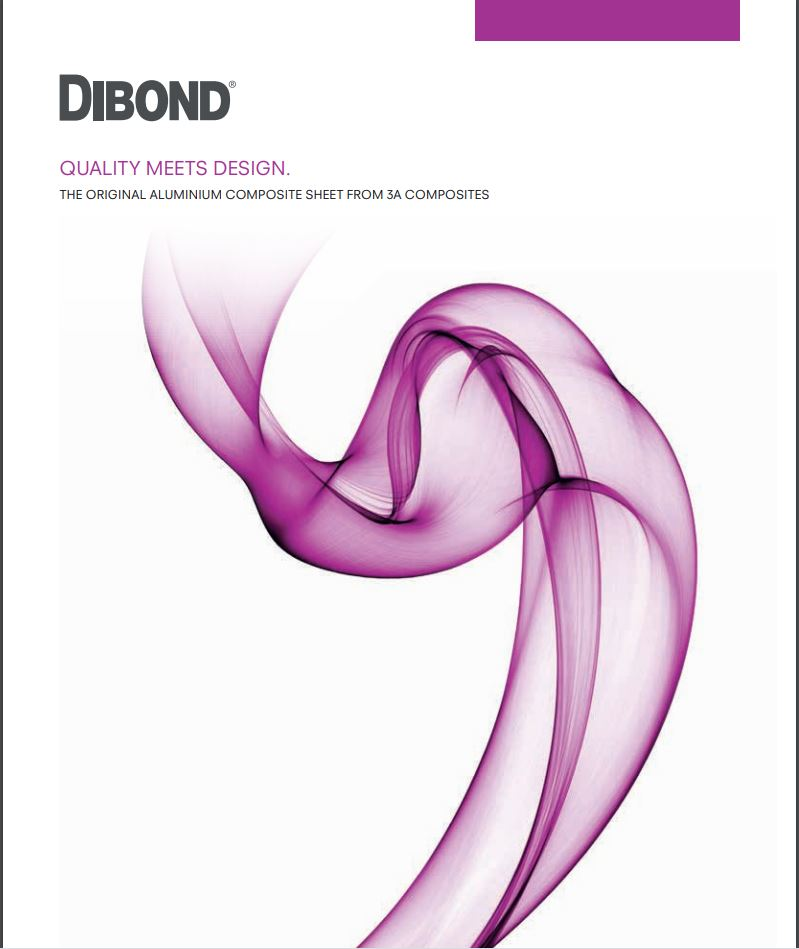 Afbeelding Cover Dibond product guide