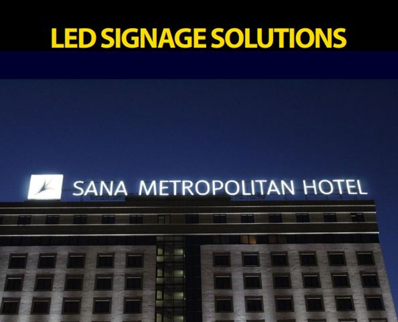 Brochure LUCOLED LED signage solutions