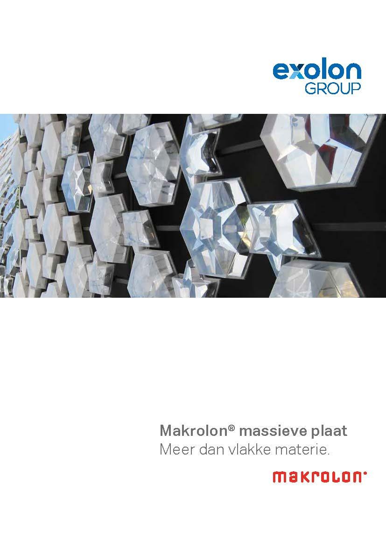 Afbeelding cover brochure MAKROLON® massieve plaat