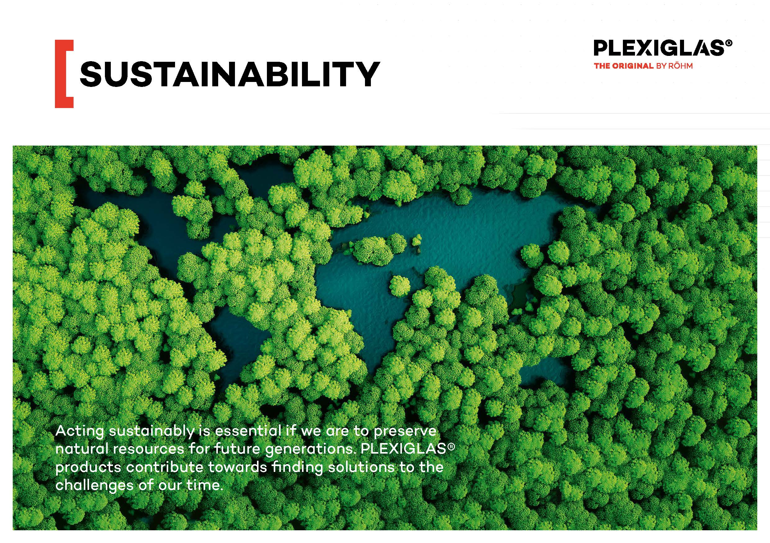 Afbeelding Cover PLEXIGLAS® Sujstainability