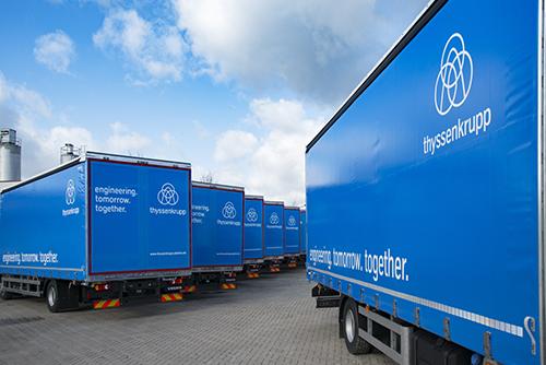 Afbeelding vrachtwagens