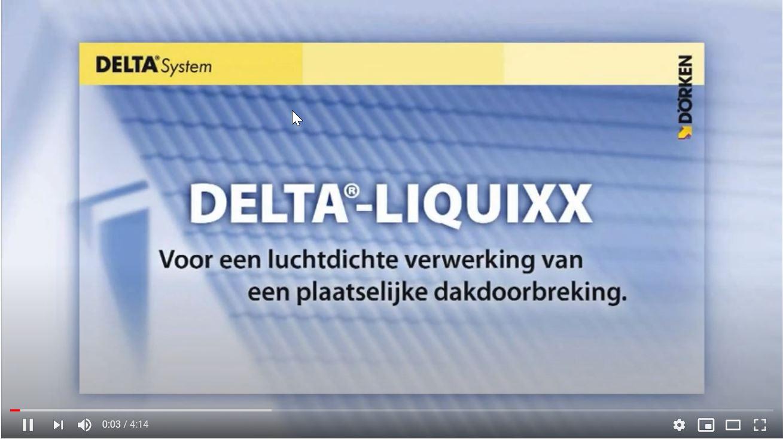 Afbeelding You Tube film DELTA® LIQUIXX
