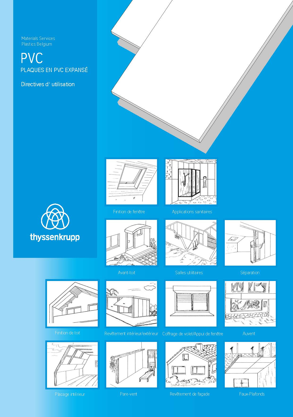 Afbeelding Cover Brochure Plaques en PVC