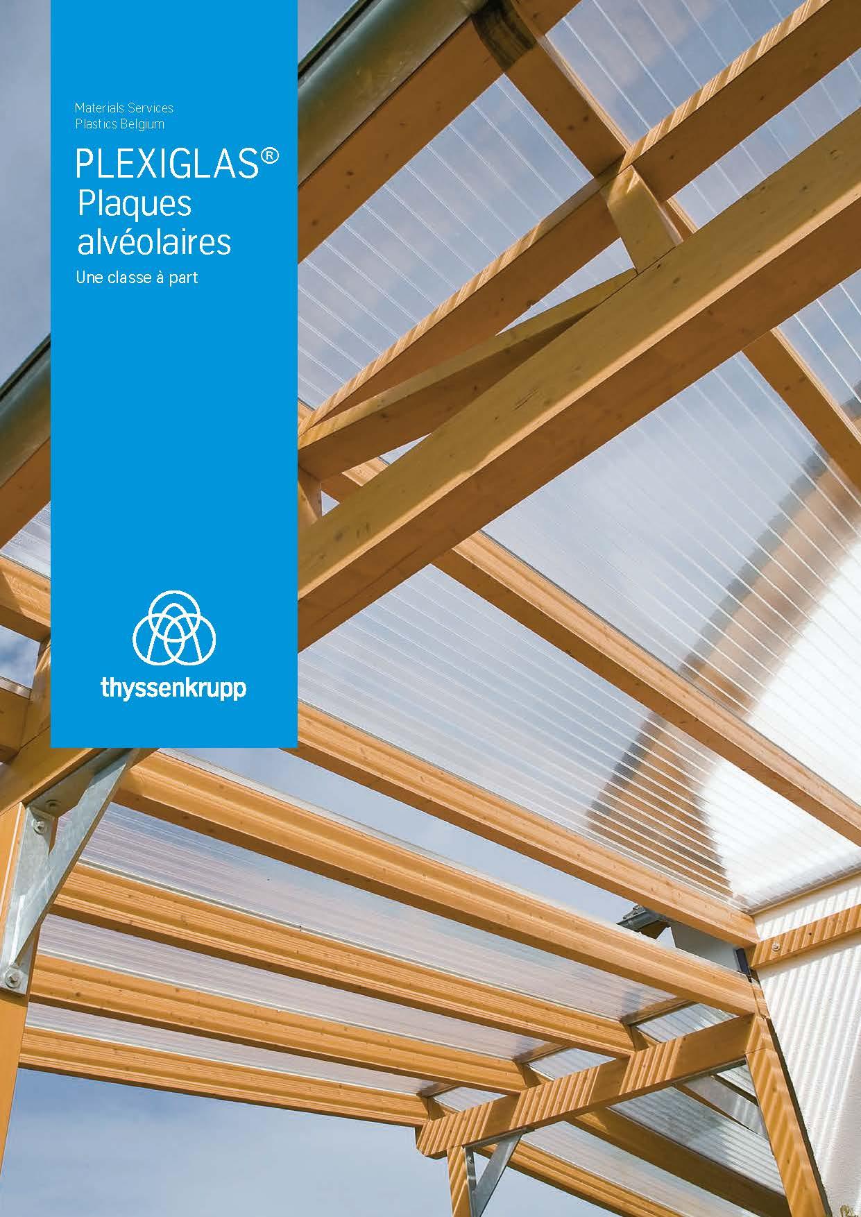 Afbeelding Cover Brochure Plaques alvéolaires PLEXIGLAS®