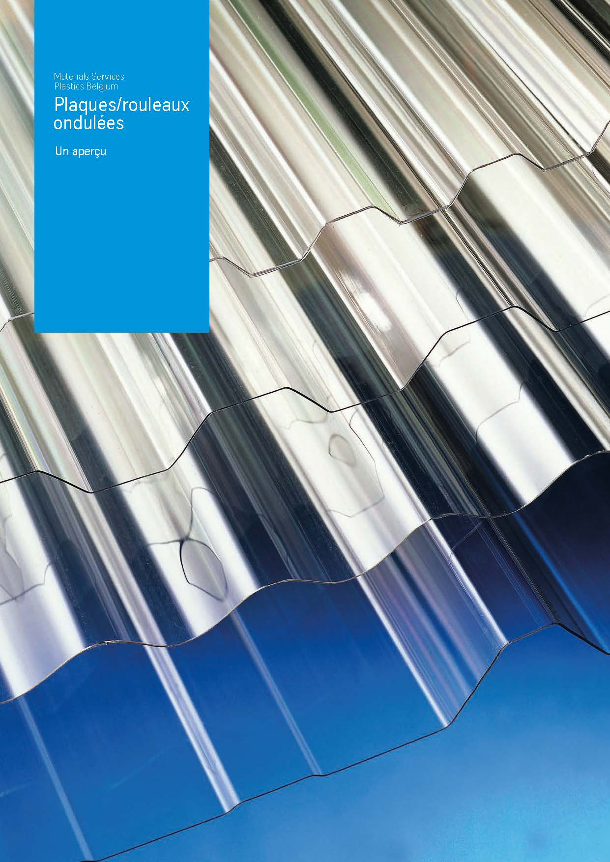 Afbeelding Cover brochure plaques ondulées