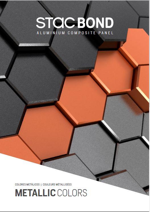 Afbeelding Cover brochure STACBOND® Couleurs Metallic