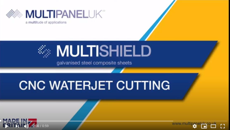 Afbeelding You Tube videa CNC Waterjet Cutting
