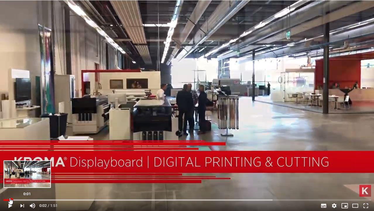 Image video KROMA® - Large Format Digital Printing & Cutting