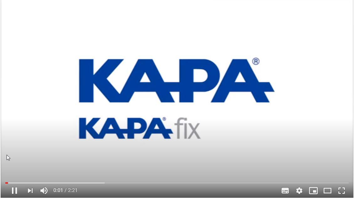 Afbeelding you tube KAPA® Fix