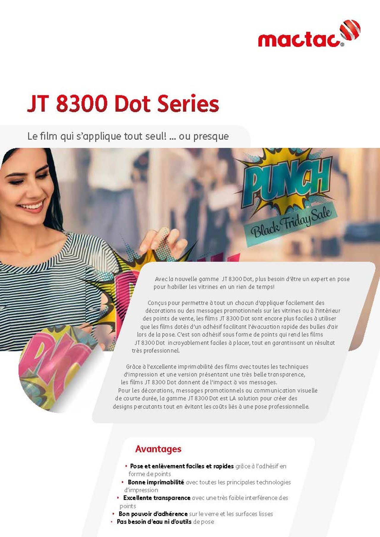 Image Brochure JT 8300 Dot Series