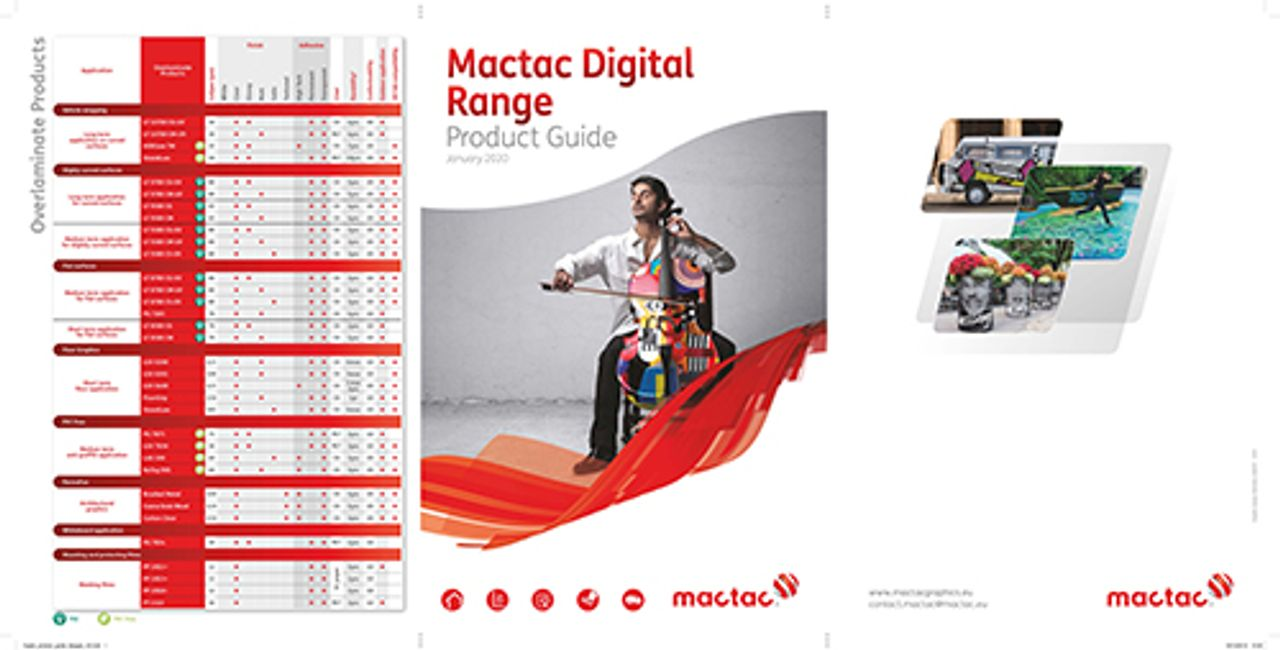 Afbeelding MACtac® Digital Range